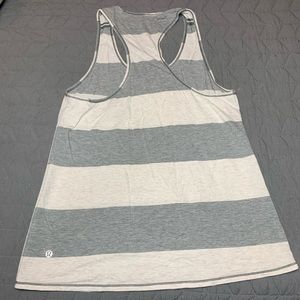LULULEMON || Grey & White Tank